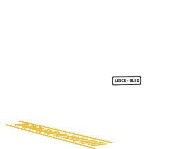 Lesce Railway Station